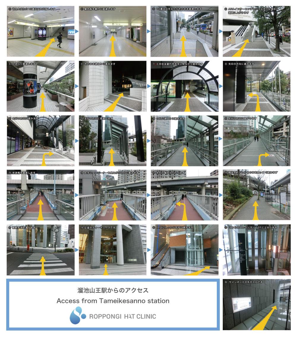 溜池山王駅からのアクセス(AccessfromTameikesannostation)